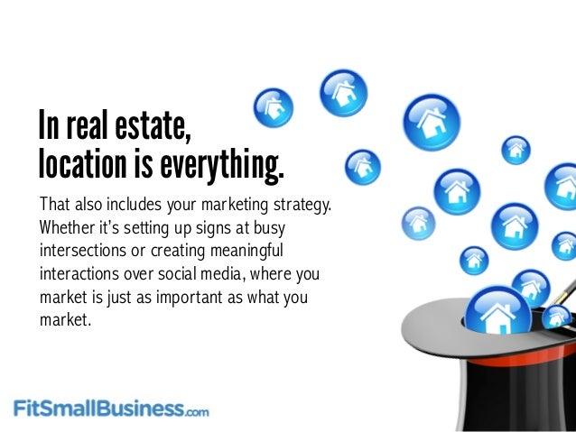 real estate marketing plans