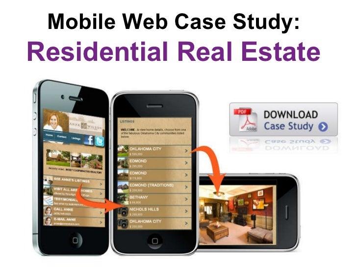 Real Estate Mobile Marketing Case Study