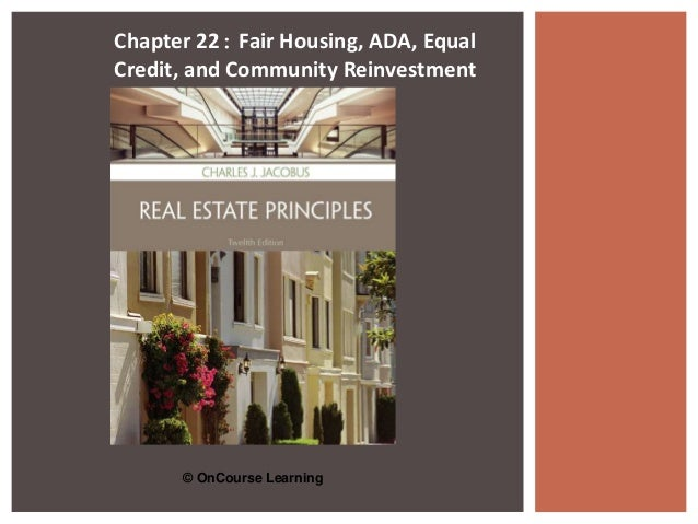 principles of real estate chapter 5 This edition of the assessors' handbook section 501,basic appraisal, is an update of the  principles of real estate productivity  chapter 5: measurement of.