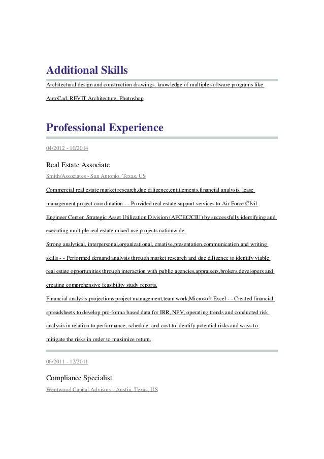 additional skills on resumes
