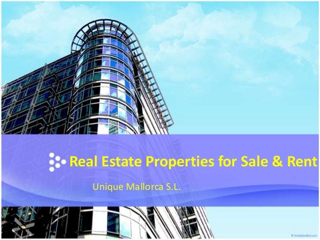 Real Estate Properties For Sale & Rent