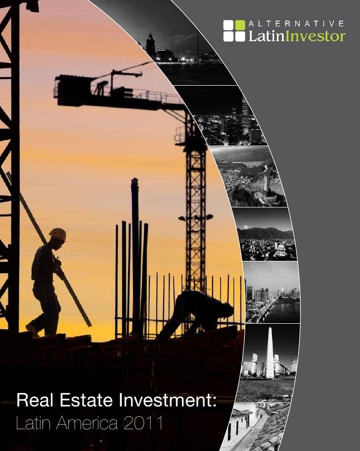 Real Estate Investment:Latin America 2011                          1
