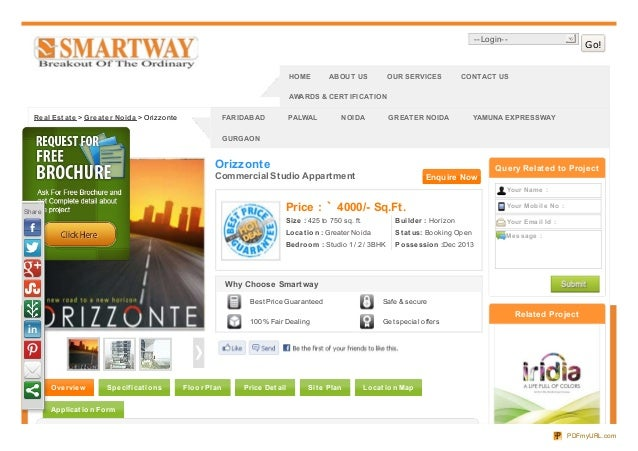 Orizzonte Greater Noida-Smartway Group