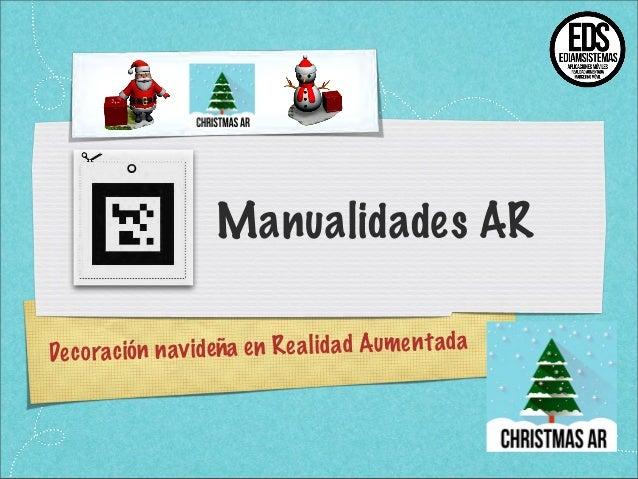 Realidad Aumentada con ChristmasAR para junaio