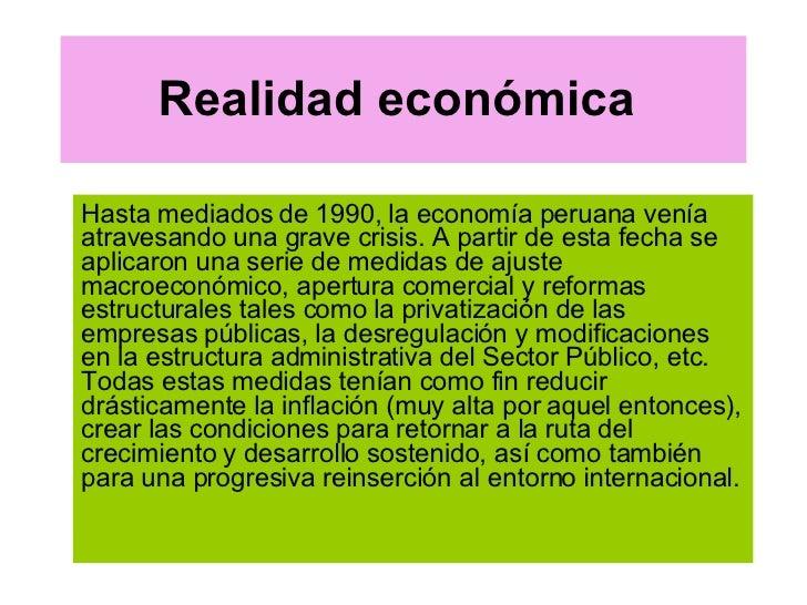 Realidad EconóMica.Ppt 5 Ta Sema