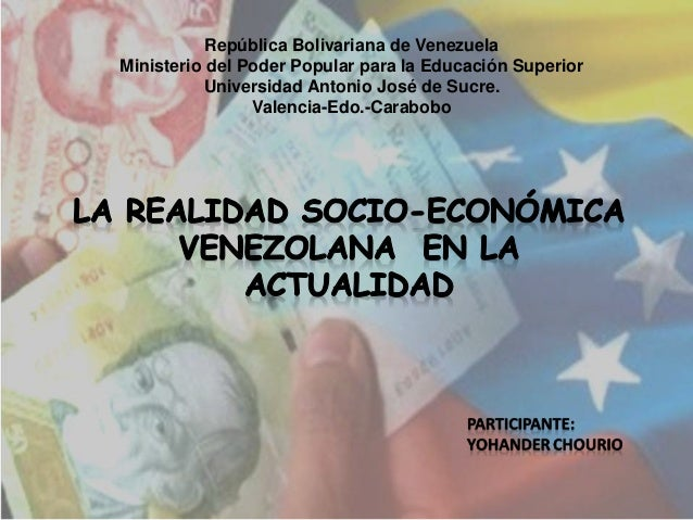 República Bolivariana de Venezuela Ministerio del Poder Popular para la Educación Superior Universidad Antonio José de Suc...