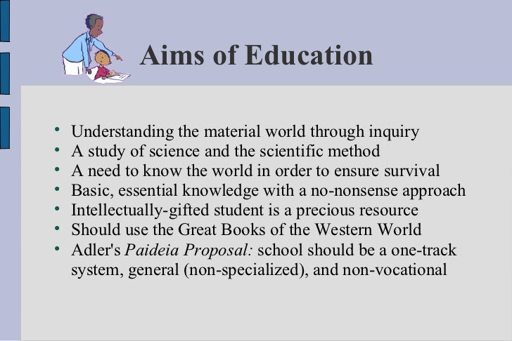 1141 words essay on the Aim of Education (Free to read)