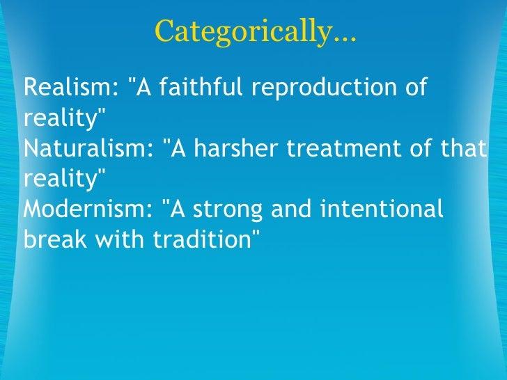 Modernism Essay