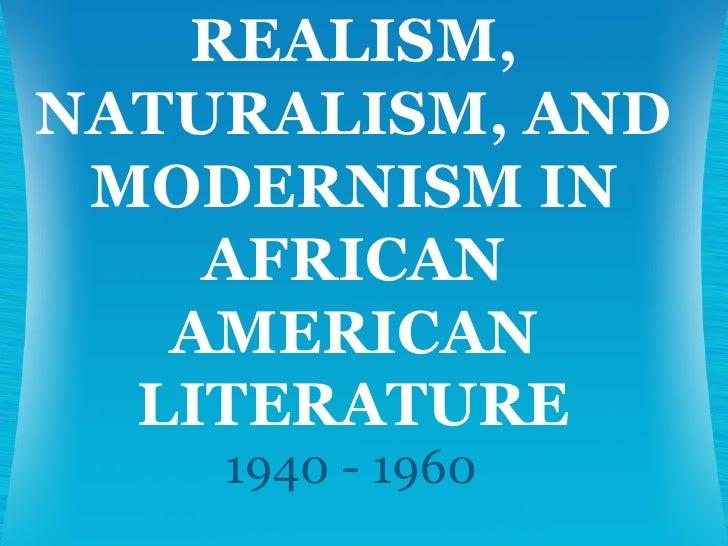 Modernism In American Literature Essay