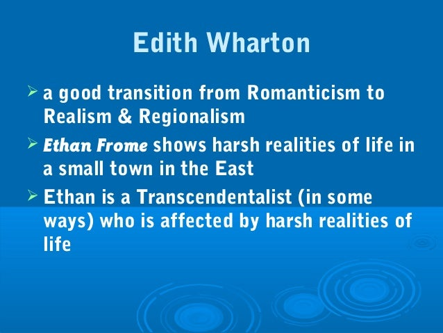 ethan frome essay nature Although by definition, a classic tragedy takes place when a character's downfall is the direct consequence of a personality flaw, edith wharton's novella ethan frome.