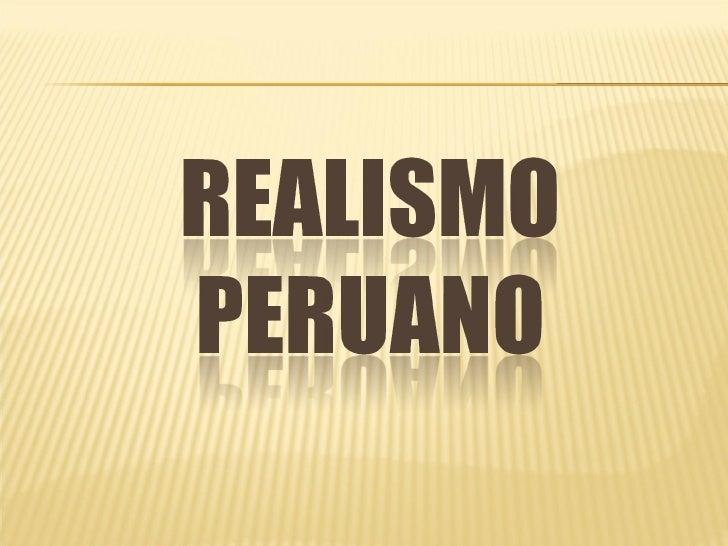 Realismo peruano