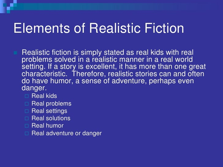 Short Stories For Kids Realistic Fiction