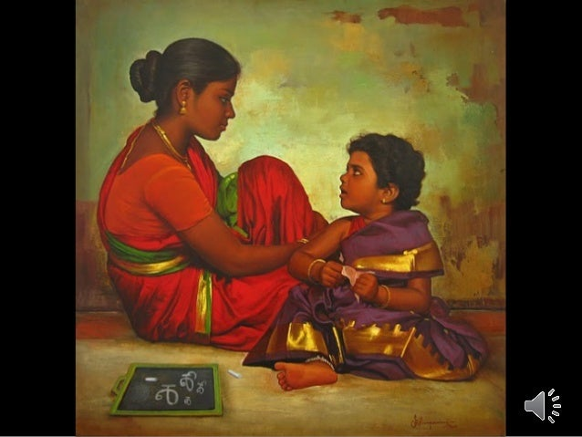 Realistic Indian Paintings By S.Ilayaraja