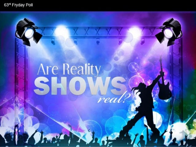 Are Reality Shows Real? - Facts & Infographic