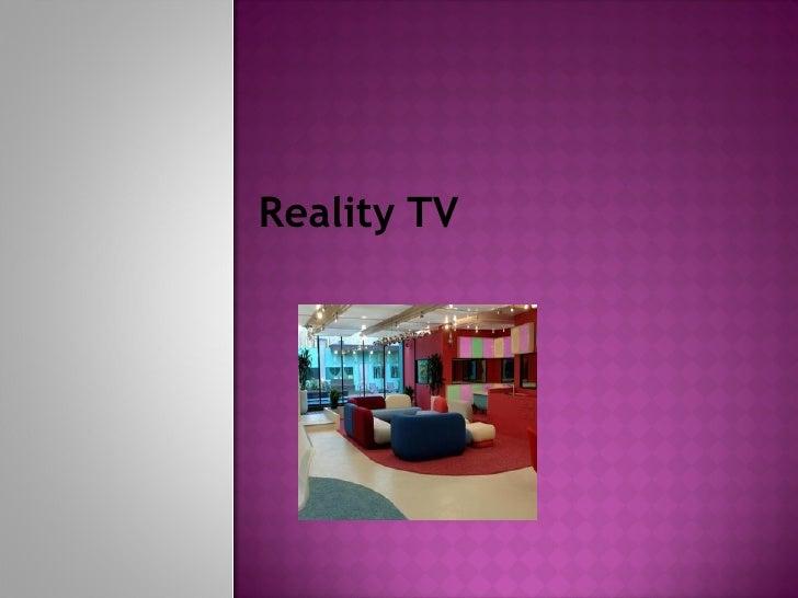Reality Tv 4