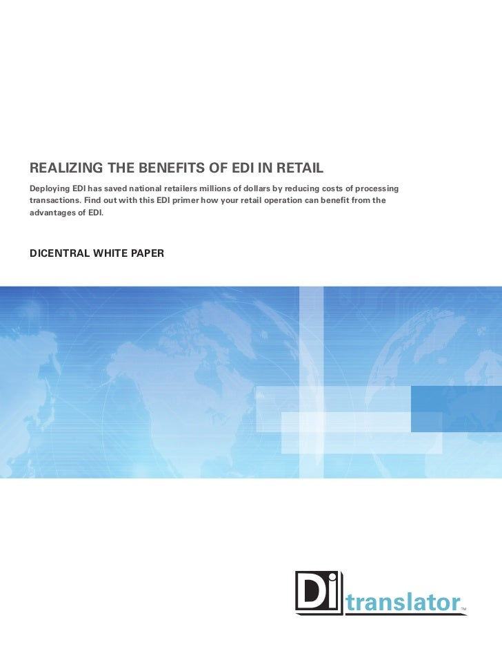 Realizing The Benefits Of EDI In Retail