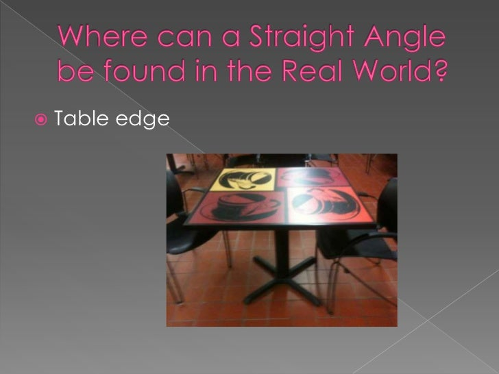 Right Angles In Real Life : Real life examples of geometric angles
