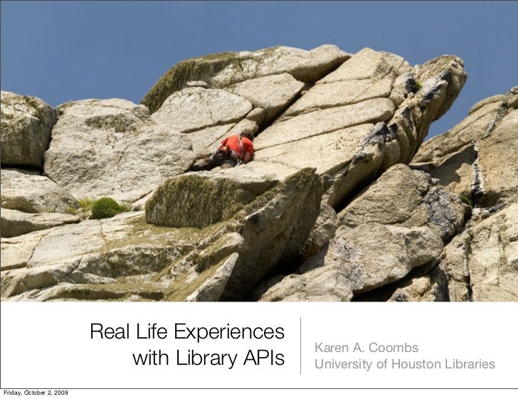 Real Life Experiences                                                   Karen A. Coombs                               with...