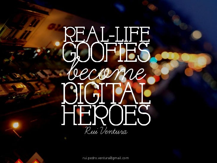 Real Life Goofies become Online Heroes