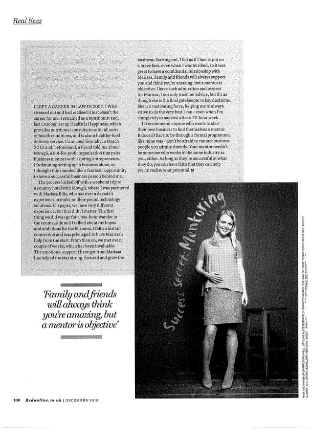 Real lives red magazine uk mowgli