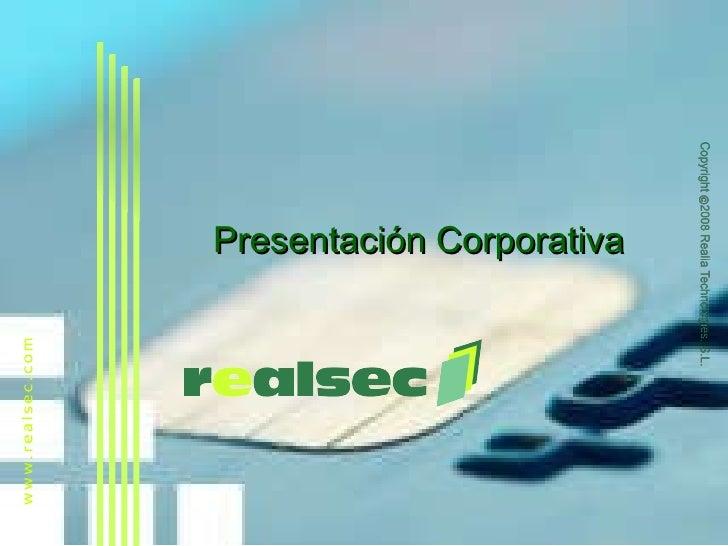 Realsec I Criptografia Y Firma Digital