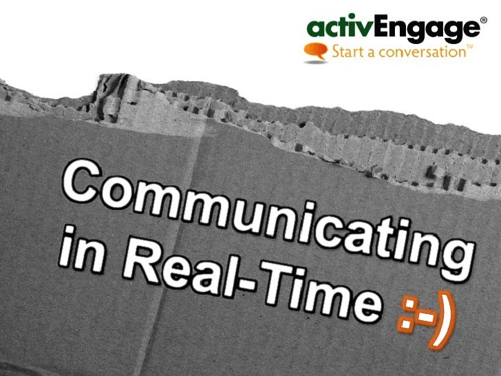 ActivEngage Dealer Chat Real-Time Communication