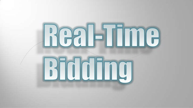 Real time bidding by Danil Melnikov