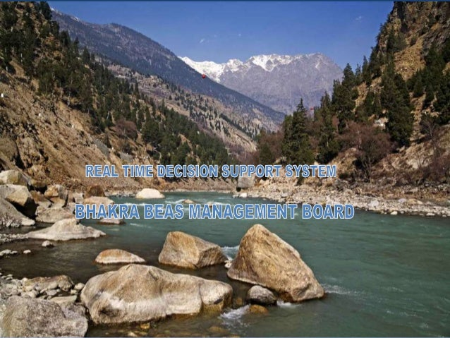 Real time decision support system sutlej and beas river basin system