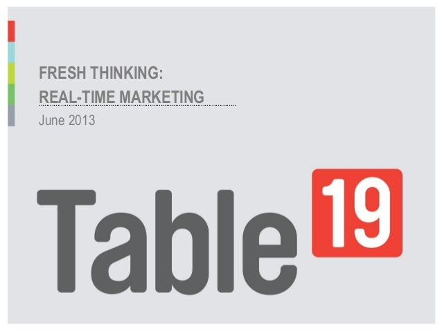 Staying Agile for Realtime Marketing Success