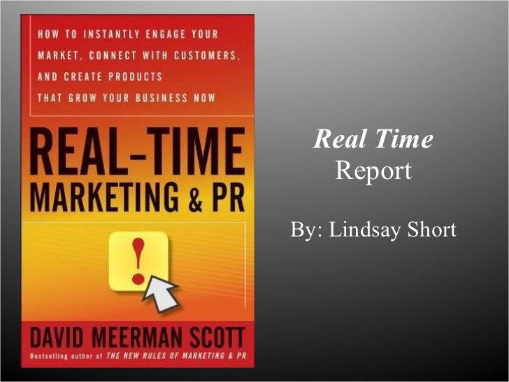 Real-Time Book Presentation