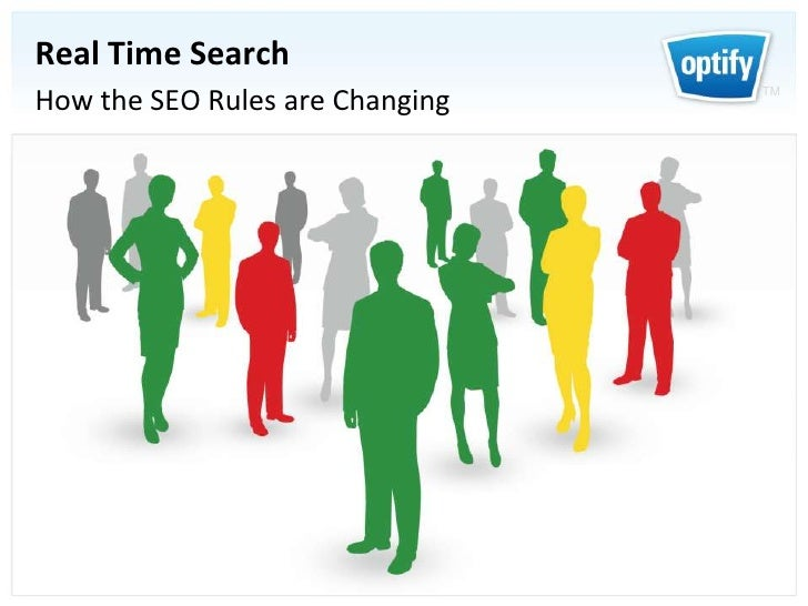 Real Time Search<br />How the SEO Rules are Changing<br />
