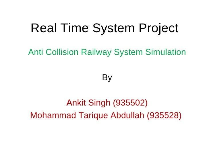 Anti Collision Railways System