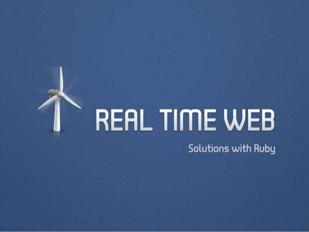 Real time web