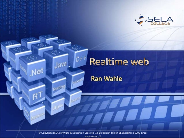 Realtime web experience with signalR