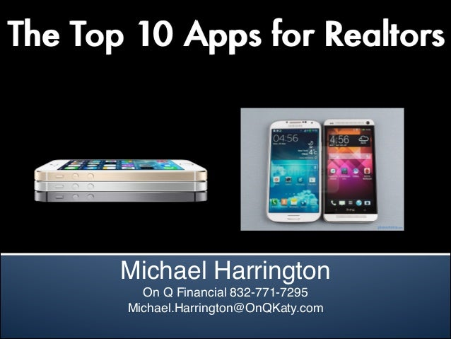 Realtor Top 10 Apps 2013