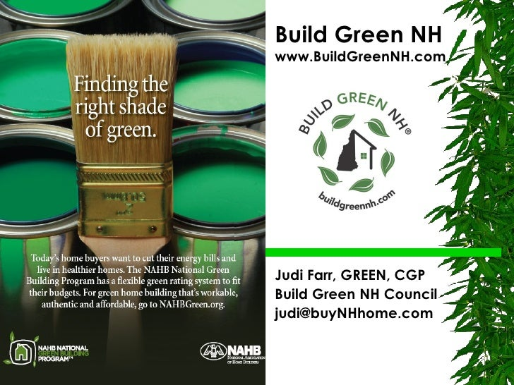Finding the Right Shade of Green Building