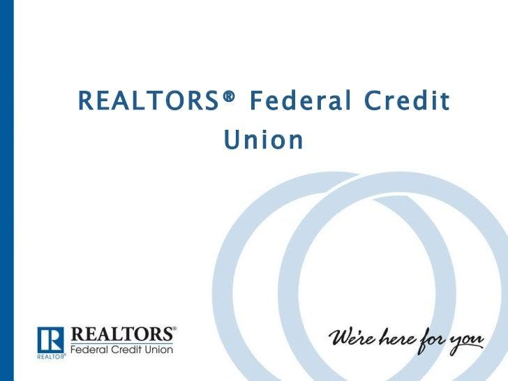 REALTORS® Federal Credit Union