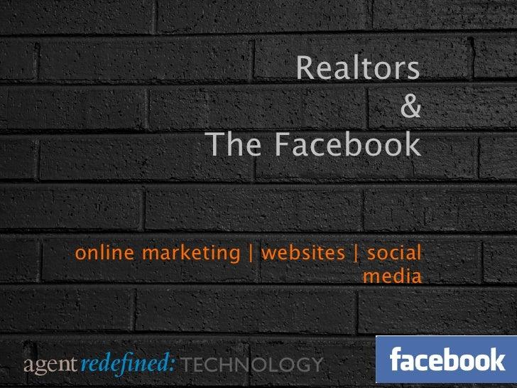 Realtors & The Facebook
