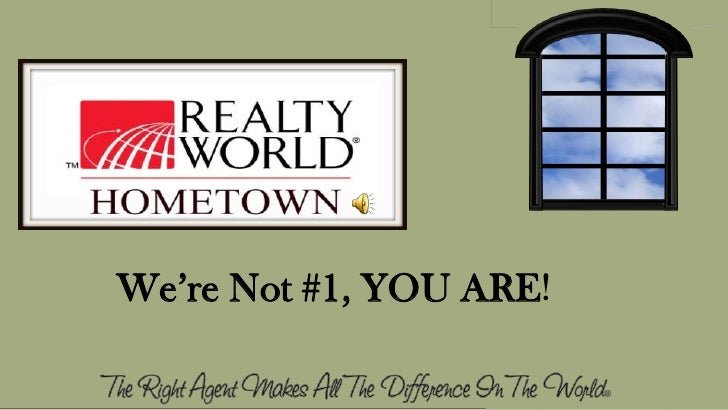 We're Not #1, YOU ARE!<br />