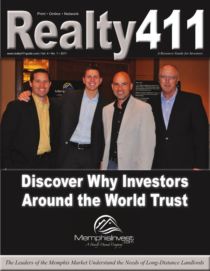 Realty411 --The Free Real Estate Investor's Resource! The Most Popular Real Estate Magazine in the World, Download it TODAY!!