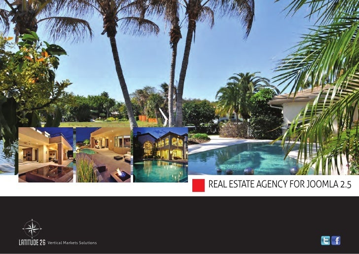 Realty Agency Solution for Joomla 2.5 - Brochure 2012