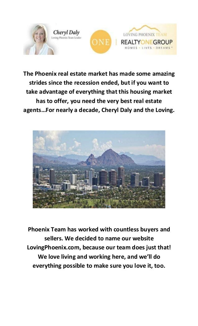 The Phoenix real estate market has made some amazing strides since the recession ended, but if you want to take advantage ...