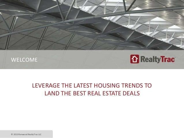 RealtyTrac Equity Trust Presentation