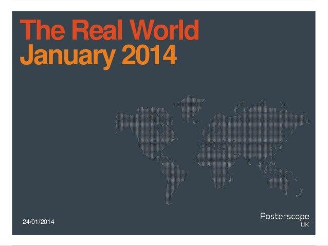 Real World January 2014
