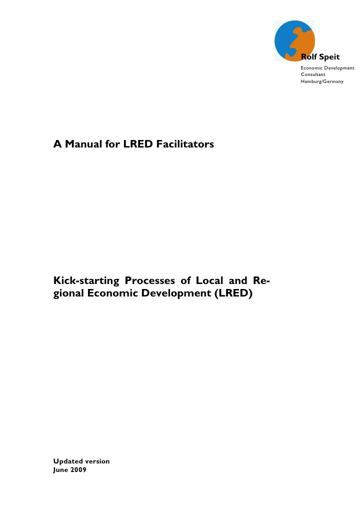 A Manual for LRED Facilitators