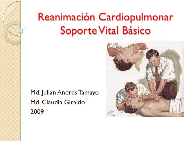 ReanimacióN Cardiopulmonar BáSica
