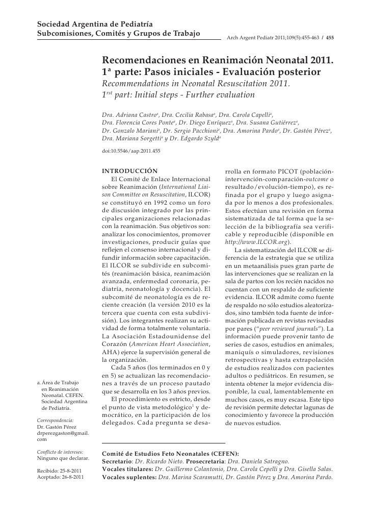 Sociedad Argentina de PediatríaSubcomisiones, Comités y Grupos de Trabajo                              Arch Argent Pediatr...