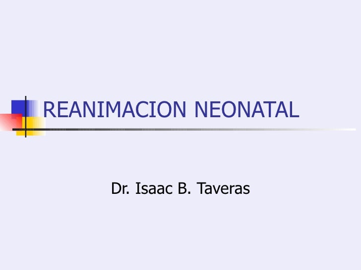 Manual De Rcp Neonatal Pdf