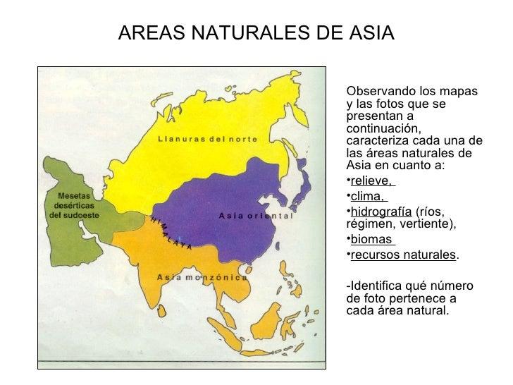 Áreas naturales de asia