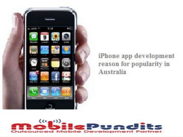 Reasons for growing i phone app development sector in australia